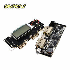 Dual USB 5V 1A 2.1A Mobile Macht Bank 18650 Battery Charger PCB LCD Display DIY