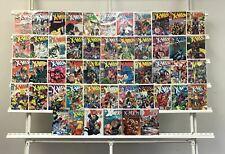 Uncanny X-men Marvel  50 Lot Comic Book Comics Set Run Collection Box1