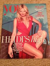 HEIDI KLUM PHOTO COVER INTERVIEW YOU MAGAZINE 2015 OLIVIA GRANT JEMIMA WEST