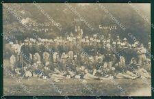 Varese Gavirate Militari Foto cartolina QK8520