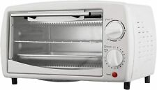 Toaster Oven Stainless Steel, 4 slice, White