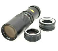 SONY E MOUNT ADAPTED 300mm / 600mm Prime Telphoto LENS + A7 NEX,A6000 etc
