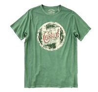 Lucky Brand - Mens 2XL Tall - NWT$49 - Retro Green Castrol Only Motor Oil Tee
