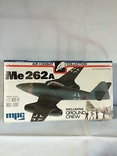 Vtg. New Mpc Me 262A Airplane Model Kit Air Combat Wwii 2-2104 1977