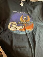 Earth Wind Fire & Chicago Heart and Soul 2.0 2016 Concert Tour T-Shirt Size 2Xl