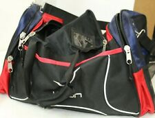 Vision Duffle Bag Gym Sports Tae Kwon Do Bag Black Red Blue