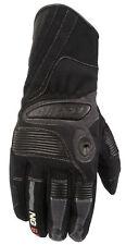 Nitro Ng-61 Leather & Textile Scooter Bike Motorcycle Motorbike Gloves Black XS