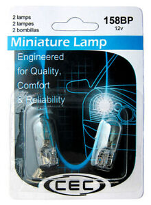 Instrument Panel Light Bulb-Sedan CEC Industries 158BP