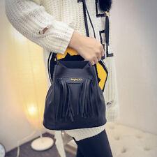 Women Girls Leather Satchel Shoulder Bag Cross Body Messenger Totes Handbag