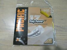 NEW Pacific Poly Power 17 Amber Tennis String - Lot of 5