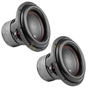 "12"" Subwoofers Dual 4 Ohm 1100 Watts Rms Car Audio Audiopipe Txx Bdc4 12 Pair"