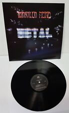 Manilla Road Metal Black Vinyl LP Record new