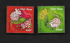 Viet Nam 2020-1 China New Year of the Rat 2V Stamp Zodiac Animal 鼠年