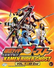 Kamen Rider Ghost DVD (Vol : 1 to 49 end) with English Subtitle