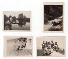 France Villers-sur-Mer Seaside Holidays Car 4 Old amateur Snapshot Photos 1927