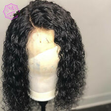 Curly Wig Brazilian Lace Front Human Hair Wigs With Baby Hair Lace Front Wig Rem