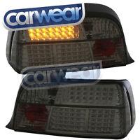 SMOKE LED TAIL LIGHT BMW E36 2DR 318is 325i 328i M3 COUPE CONVERTIBLE 92-98