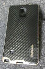 Caseology Bumper Frame Case Carbon Fiber Black/Gold For Samsung Galaxy Note 4