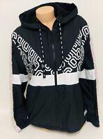 NWT Victorias Secret PINK Bling Sherpa Lined Anorak Full Zip Jacket Medium/Large