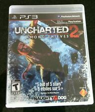Uncharted 2 Among Thieves Sony PlayStation 3 Game PS 3 Fortune Hunter Blood Play