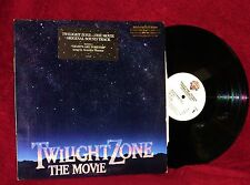 OST LP TWILIGHT ZONE THE MOVIE JERRY GOLDSMITH 1983 WARNER BROS. NM PROMO