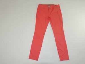 Refuge Women's Skin Tight Legging Jeans Size 10 x 29.5 NWT Salmon Light Weight