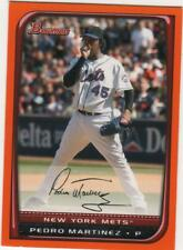 2008 Bowman Orange #195 Pedro Martinez 140/250 METS
