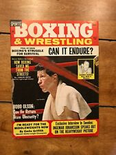 Boxing & And Wrestling Magazine Vintage March 1965 Joey Giardello