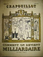 COMMENT ON DEVIENT MILLIARDAIRE LES GROS TOME II LE CRAPOUILLOT 1953
