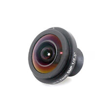"HD 5MP Fisheye 1.7mm CCTV Lens Wide Angle 1/2.5"" M12 IR Board for IP Cam 170° NW"