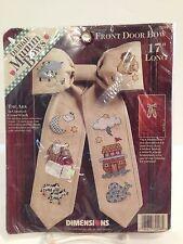 "Dimensions Debbie Mumm Bows #72298 ""The Ark""  17"" long NIP Kit"