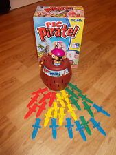 Pop Up Pirate Pic pirate Kids Fun Jeu TOMY complet belle condition de Noël jeu