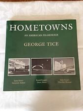 Hometowns: An America Pilgrimage by George Tice, Signed, 1st Ed, w/ Letter