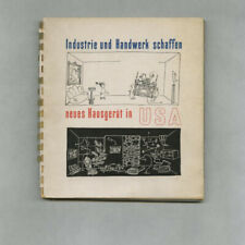 1954 Alexander Girard NEW HOUSEWARES FROM THE USA Saul Steinberg Noguchi Catalog