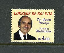 Bolivia 1180, MNH.2002, Gunnar Mendoza 1v. x27693