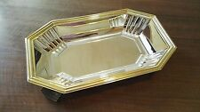 VASSOIO vintage centrotavola in ARGENTO Silverplated centerpiece tray dish