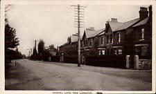 New Longton near Preston. Chapel Lane # 1004 by A.J.Evans.