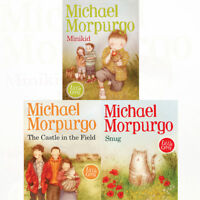 Michael Morpurgo Little Gems Collection 3 Books Set The Castle in the Field New