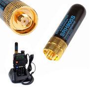 EG_ FM- SRH805S SMA-F Female Dual Band Antenna for Baofeng GT-3 UV-5R BF-888s Ra