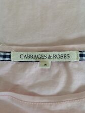 CABBAGES AND ROSES LADIES TOP SIZE S