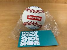 SUPREME x RAWLINGS OFFICIAL BASEBALL RED BOX LOGO SS12 2012 5 oz 9 inch BOGO