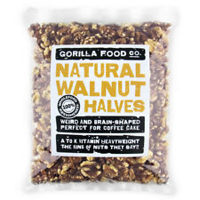 Gorilla Food Co. Natural Walnut Halves - 200g-3.2kg (Great value £ per 1kg)