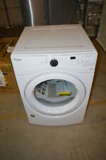 """Whirlpool Wed7590Fw 27"""" White Front-Load Electric Dryer Nob #19315 T2 Clw"""