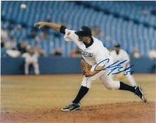 CHAD BECK  TORONTO BLUE JAYS   ACTION SIGNED 8x10