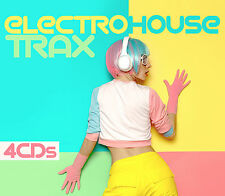 CD Electro House Trax von Various Artists 4CDs