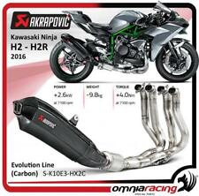 Akrapovic Carbon Full Exhaust System Not Kawasaki Ninja H2/H2R 2016> 16>