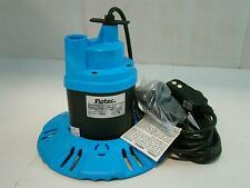 Flotec Submersible Pool/Spa Cover Pump 115V 8.5Amps 1/4Hp 25' Fp0S1790Pca