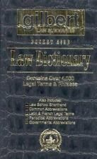 Gilbert Law Summaries Pocket Size Law Dictionary: Black