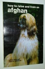 Vintage How to Raise and Train an Afghan by Shay & Barbaresi Champion Photos