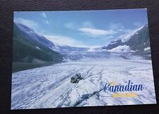 POSTCARD: THE CANADIAN ROCKIES: COLUMBIA ICEFIELD: POSTED: USED